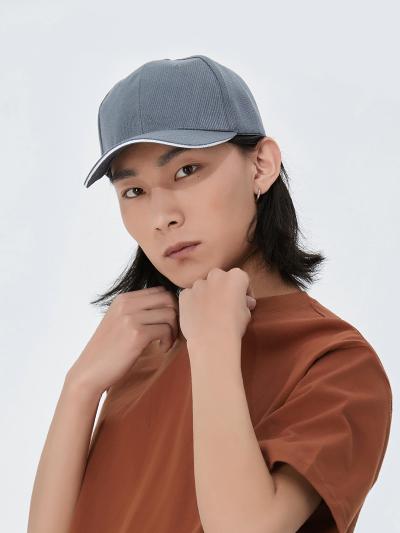 全棉6片帽子