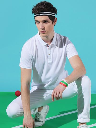 牛奶蛋白纤维运动休闲Polo衫