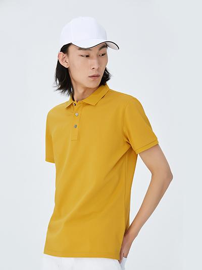 纯色轻薄款polo衫