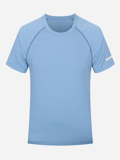 薄荷圆领男女款T恤